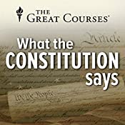 What the Constitution Says | [Rufus Fears]
