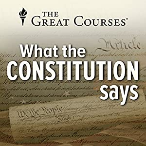 What the Constitution Says