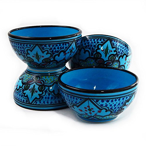 Le Souk Ceramique Soup/Cereal Bowls, Set Of 4, Sabrine Design