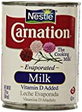 Nestle Carnation Evaporated Milk, 8 Can of 12oz