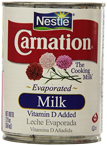 Nestle Carnation Evaporated Milk, 8 Can of 12oz (Canned Evaporated Milk compare prices)
