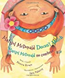 Marisol McDonald Doesn't Match: Marisol McDonald no combina (English and Spanish Edition)