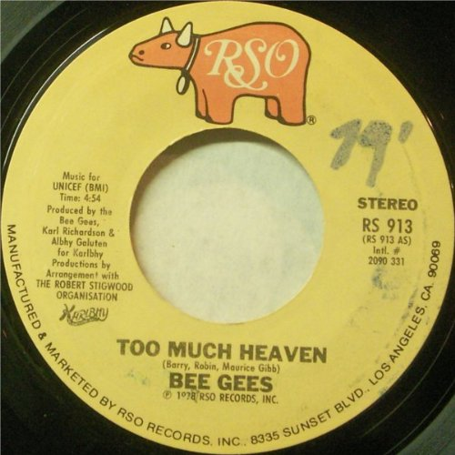 Bee Gees - Too Much Heaven - Zortam Music