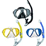 Mares X Vu Mask and Ergo Snorkel Set - [Blue]
