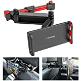 Tryone Car Headrest Tablet Mount Stretchable Tablet Headrest Holder Compatible with Smartphones/Tablets/Switch 4