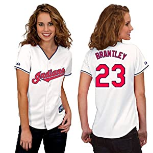 Michael Brantley Cleveland Indians Home Ladies Replica Jersey by Majestic by Majestic