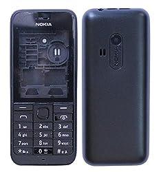 Nokia 220 Replacement Body Housing Front & Back Original Panel - Black