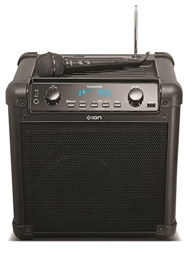 ION Audio Tailgater (iPA77) | Portable Bluetooth PA Speaker with Mic, AM/FM Radio, and USB Charge Port [Current Model]