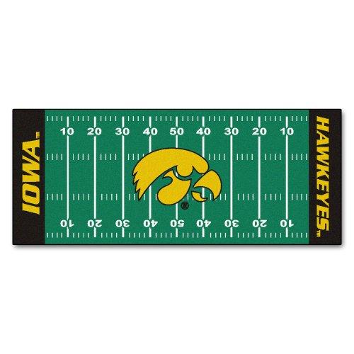 FANMATS NCAA University of Iowa Hawkeyes Nylon Face Football Field Runner Fanmats Area Rugs autotags B001IMME9E