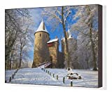 Canvas Print of Castell Coch, Tongwynlais, Cardiff, South Wales, Wales, United Kingdom, Europe from Robert Harding