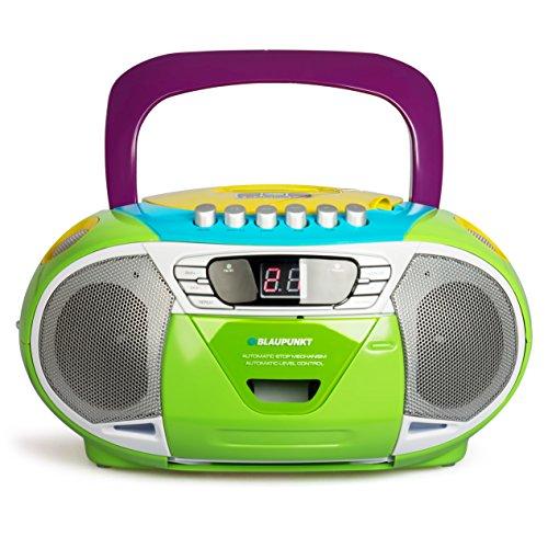 BLAUPUNKT-B-11-MC-tragbares-CD-Radio-mit-Kassettenplayer-LED-Display-Backlight-2x-1-Watt-UKWMW-Tuner-multicolor