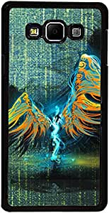 PrintVisa Case Covers for Samsung Galaxy A3 (D7633 Abstract Angel)