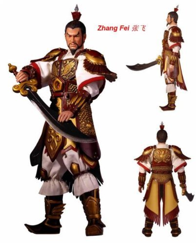 Romance of the Three Kingdoms Zhang Fei 12 Action Figure by Romance of the Three Kingdoms