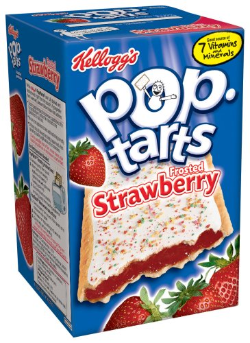 Buy Kellogg's Pop-Tarts Frosted Strawberry, 14.7-Ounce, 8-Count Boxes (Pack of 12) (Pop-Tarts, Health & Personal Care, Products, Food & Snacks, Breakfast Foods, Toaster Pastries)