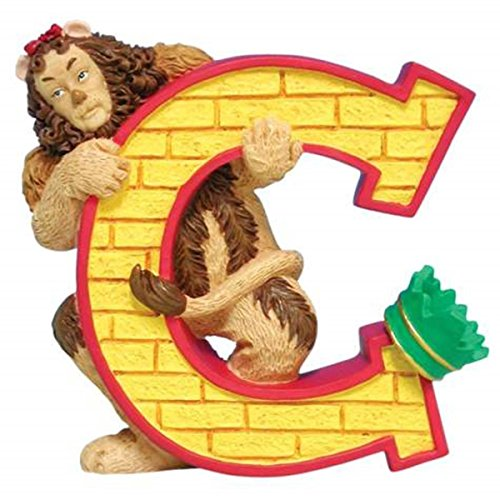 WL SS-WL-17003 Wizard of Oz Collectible Brick Letter C Figurine, Yellow, 3