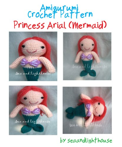 Ariel Princess Mermaid Version Amigurumi Crochet Pattern