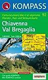 Chiavenna, Val Bregaglia: Wander-, Rad- und Skitourenkarte. Carta escursioni, bike e sci alpinismo. 1:50.000 Picture