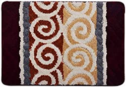 Obsessions Super Luxury Polyester Bathmat - Rust (P-577)