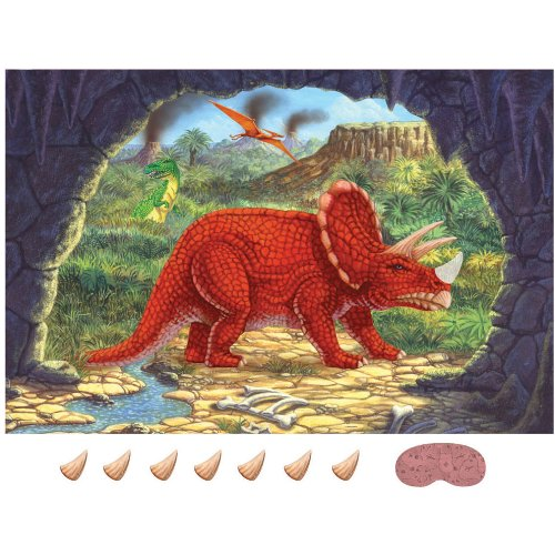 Diggin' For Dinos Party Game