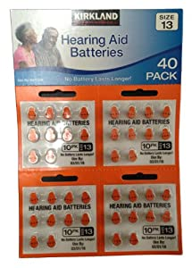 Amazon.com: Hearing Aid Batteries - 40 Pack Mercury Free ...