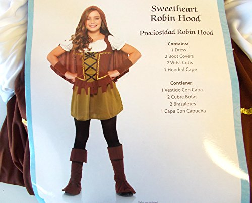 Sweetheart Robin Hood Child Costume 8-10 NIP