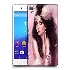 Snoogg Beauty Fantasy Girl Pink Designer Protective Phone Back Case Cover For Asus Zenfone 6
