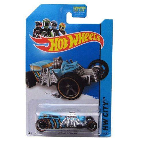 Street Creeper '14 Hot Wheels 80/250 (Blue) Vehicle - 1