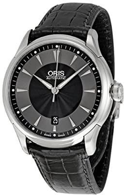 Oris Men's 733 7591 4054LS Artelier Culture Date Watch
