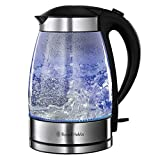 Russell Hobbs 15082 Blue Led Illuminating Light Up Electric Glass Kitchen Kettle