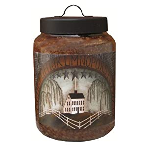Goose Creek 16-Ounce Bread Basket Jar Candle with Abc'S Folk Art