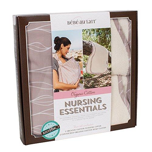 Bebe au Lait Organic Cotton Nursing Essentials Set, Blush