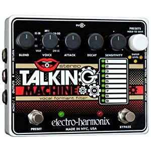 Electro-Harmonix Talking Machine Through a Roland Sequnecer (demo)