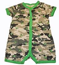 John Deere Camo Snap Button Newborn/Infant Onesie (3 Month)