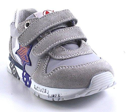 Naturino, Sneaker bambini Grigio grigio, Grigio (grigio), 28