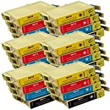 24 CiberDirect Compatible Ink Cartridge Replacements for Epson T0615 (T0611-4 multipack).