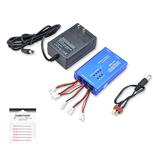 HOBBYTIGER BC-1S06 6-in-1 3.7V Lipo Battery Charger Balance Quick Charge