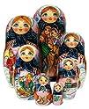 Celebration Nesting Dolls 7-pc set 8H