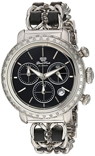 Glam-Rock-Womens-GR77126DS1-Bal-Harbour-Analog-Display-Swiss-Quartz-Silver-Watch