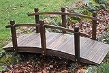Gartenbrücke aus Holz