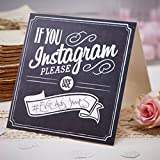 "Make sure you capture all of the photos online with the &quotIf you Instagram signs."" These signs have space to write your own hashtag &quot#"" on to ensure your guests use the same one when posting pictures of your event so you can fi..."