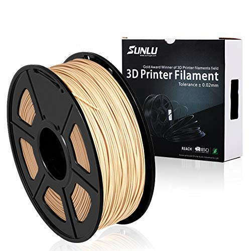 TRIGORILLA ANYCUBIC 3D Printer PLA Filament //-0.02 mm for FDM 3D Printer and 3D Pen,White 1kg Reel 1.75mm PLA,Dimensional Accuracy