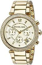 Comprar Michael Kors MK5354 - Reloj de cuarzo con correa de acero inoxidable para mujer, color dorado