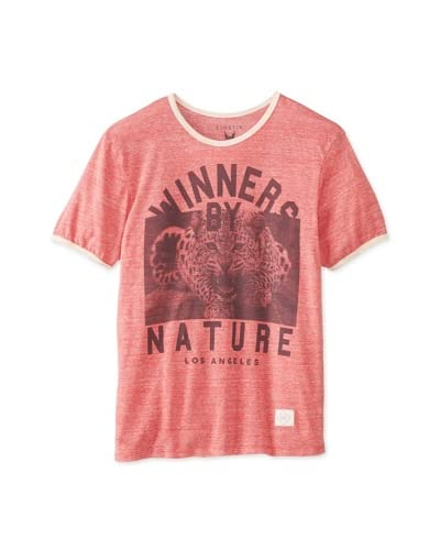 Kinetix Men's Ringer Crew Winner T-Shirt