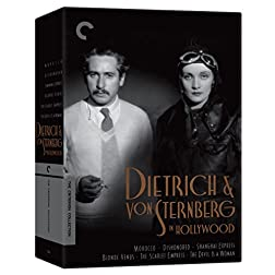 Dietrich and von Sternberg in Hollywood