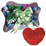 Stylish Butterfly Chocolate Pack Combo With Heart Soft Toy