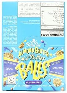 Betty Lou's Almond Butter Nut Butter Balls, 1.4 oz, 18 ct