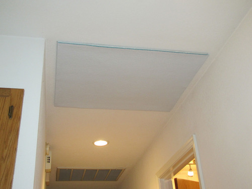 Battic Door Whole House Attic Ceiling Fan Shutter Seal