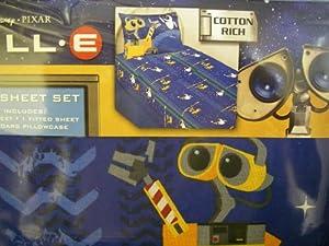 Wall-E Twin Sheets Set Twin Planets Bedding Sheets