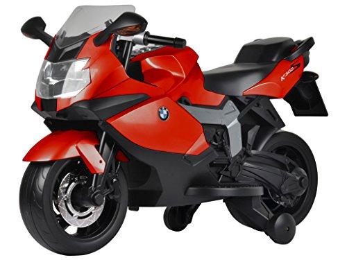 moto elettrica per bambini bmw k1300s rossa - mazzeo giocattoli