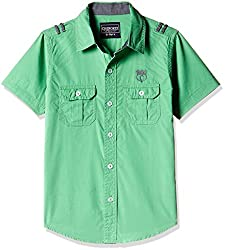 Cherokee Boys' Shirt (267983819_Green_9 - 10 years)